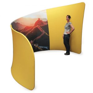 Fabric booths